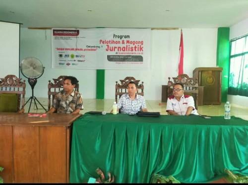 Suara Indonesia Gandeng UIJ Gelar Pelatihan dan Magang Jurnalistik Mahasiswa