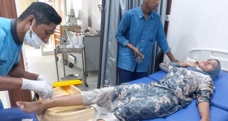 Mahasiswi Jadi Korban Jambret di Kawasan Blang Panyang Lhokseumawe