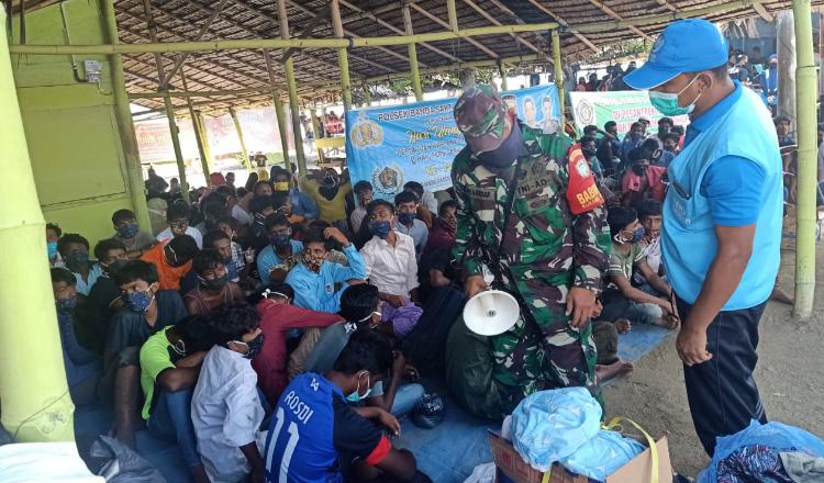 Tujuh Imigran Rohignya Berusaha Kabur dari Penampungan