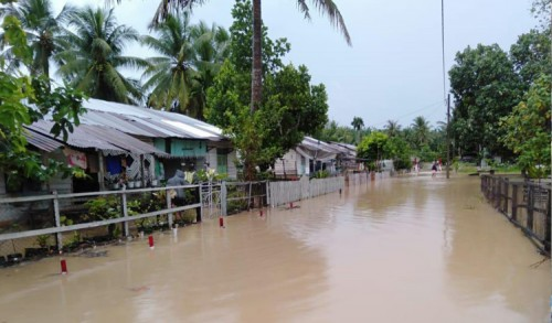 Banjir Rendam Ratusan Rumah di Aceh Timur