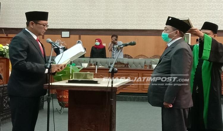 Satu Anggota DPRD Banyuwangi Dilantik Gantikan Cawabup Sugirah