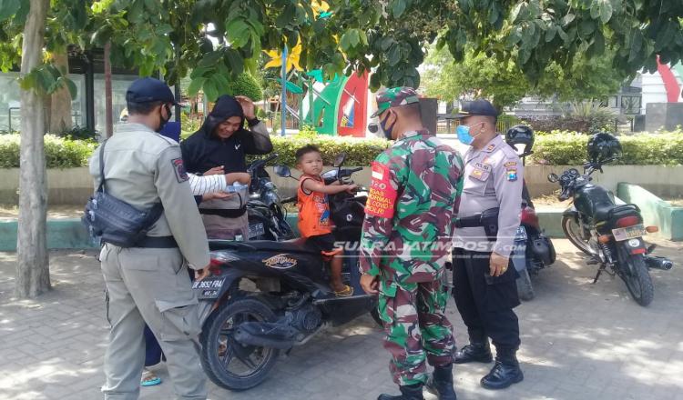 Puluhan Warga Situbondo Tertangkap Tak Pakai Masker, Mayoritas Beralasan Lupa