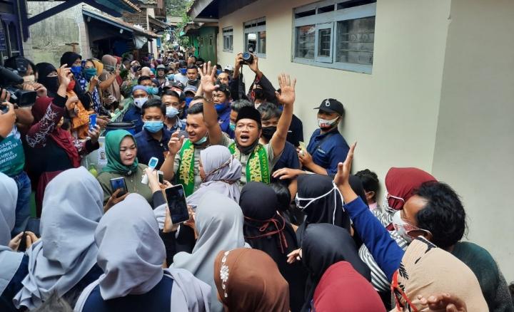 Prihatin !! Insentif Linmas Dan Siltap Kabupaten Bandung, Paslon Bedas Janjikan Kenaikan Plus BPJS Kesehatan