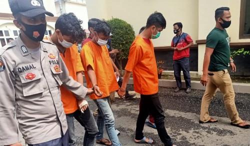 Curi HP, Dua Pemuda Aceh Utara Ditangkap Polisi