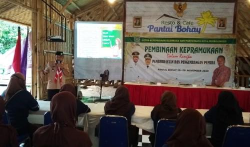 Bina Saka Pramuka, Dispopar Kota Probolinggo Siapkan Pemuda Cinta Lingkungan