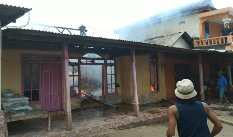 Dua Rumah di Situbondo Ludes Terbakar, Kerugian Capai Rp 70 Juta
