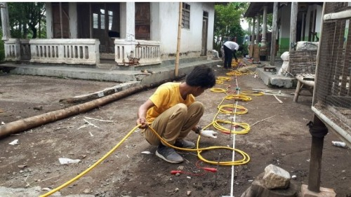 Tim ITS Segera Ungkap 'Misteri' Struktur Bata di Alassumur Bondowoso