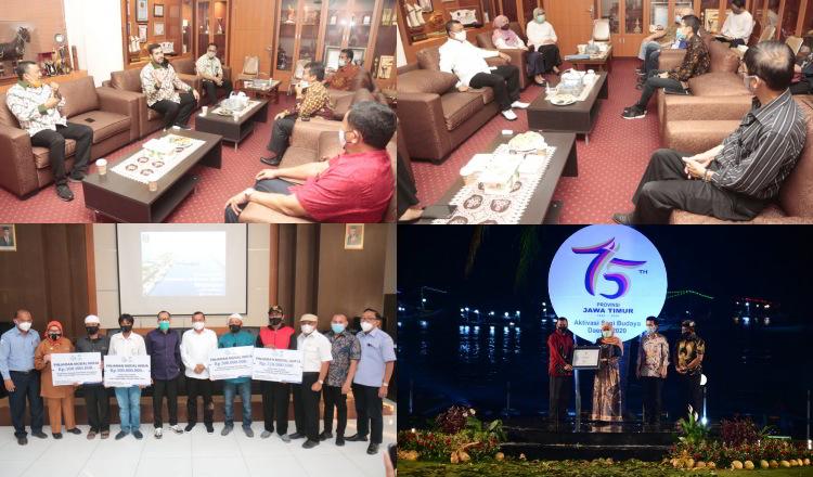Sebelum Terpapar Covid-19, Berikut Agenda Wawali Kota Probolinggo Bersama Pejabat Publik