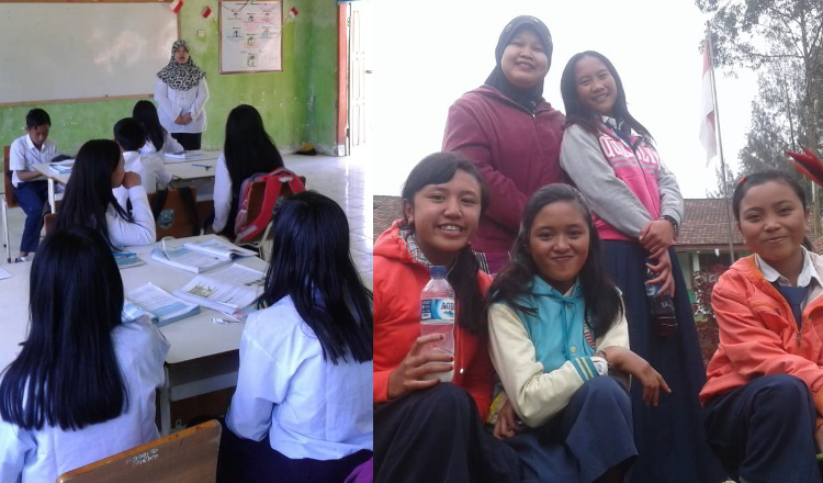 11 Tahun Guru Wanita di Probolinggo Menumpang Pick Up Sayur Ke Sekolah