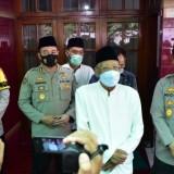 Kapolda Jatim Kunjungi Ketua MUI KH. Abdussomad Buchori