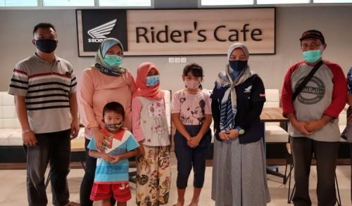 MPM Honda Jatim Salurkan Bantuan ke 30 Anak Asuh di Malang