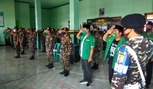 Apel Kebangsaan Virtual, GP. Ansor Probolinggo Siap Kawal Komando Pimpinan Pusat
