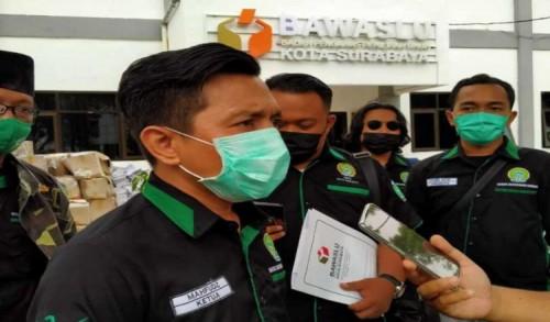 Garda Bangsa Laporkan Dugaan Kampanye Hitam ke Bawaslu Surabaya