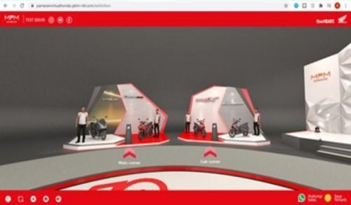 Ratusan Konsumen Honda Kunjungi Pameran Virtual Honda