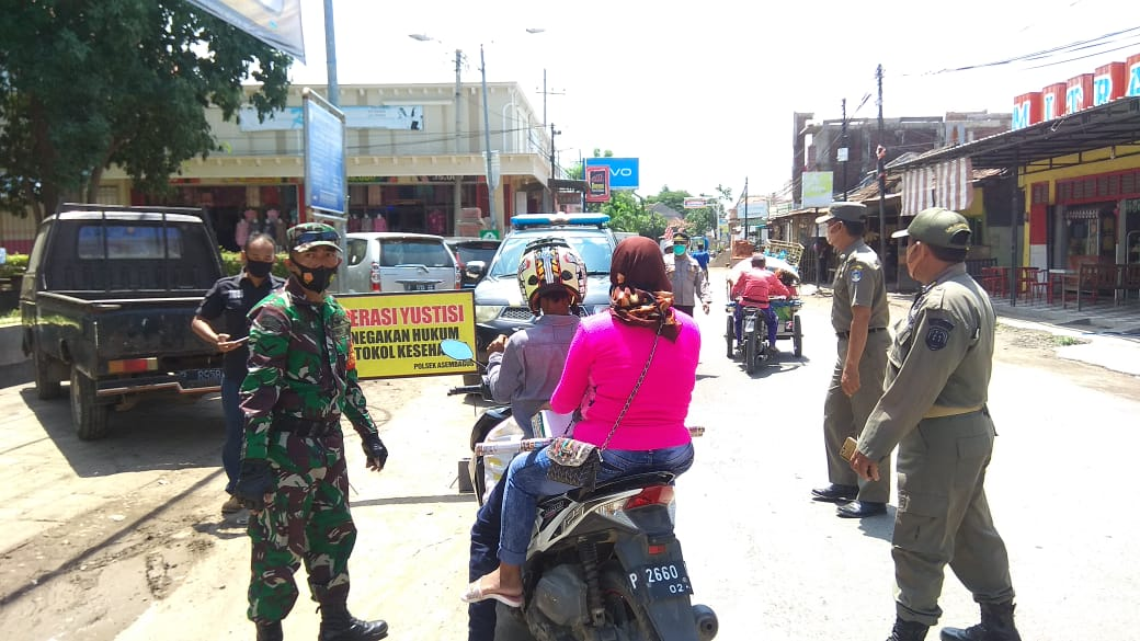 Tiga Pilar Kecamatan Kota Kembali Perketat Operasi Yustisi