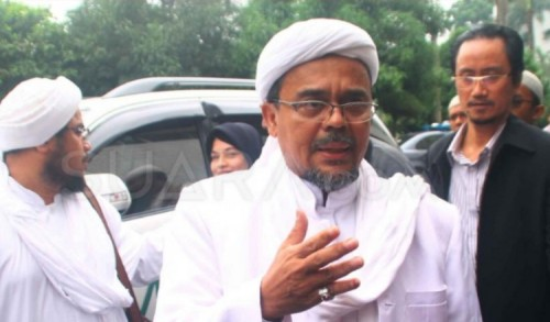 Polda Metro Jaya Layangkan Pemanggilan Kedua kepada Habib Rizieq dan Menantunya