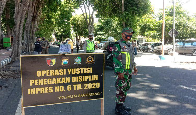 Di Banyuwangi, Tingkat Kepatuhan Masyarakat Gunakan Masker Sudah 90 Persen