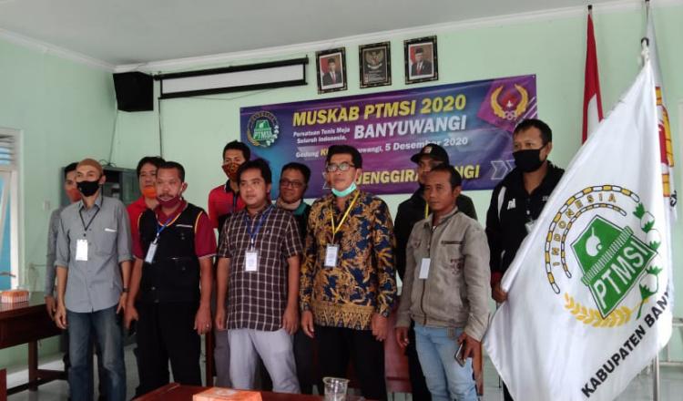 Ketua Pengcab PTMSI Kabupaten Banyuwangi Berganti ke Sabiq Irwan