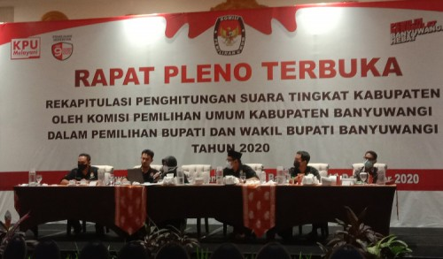 Hasil Pleno KPU: Ipuk-Sugirah Menang Pilkada Banyuwangi, Raup 52,44 Persen Suara