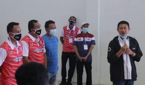 Yuhronur Efendi Siap Kembangkan Olahraga Bola Voli di Lamongan