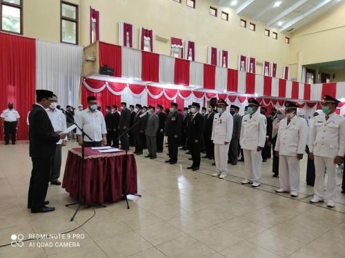 Pemkab Aceh Selatan lantik 68 Pejabat Eselon II dan III