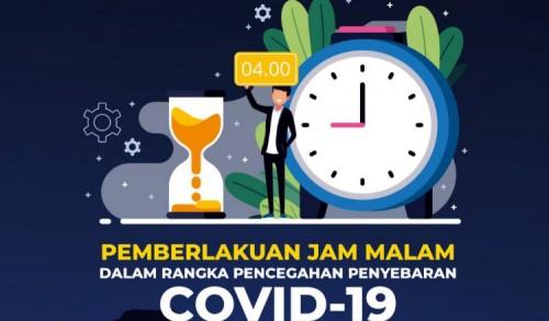 Antisipasi Cluster Covid-19 di Tahun Baru, Aturan Jam Malam Diberlakukan