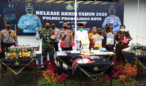 Kejahatan Jalanan Dominan Sepanjang Tahun 2020 di Kota Probolinggo