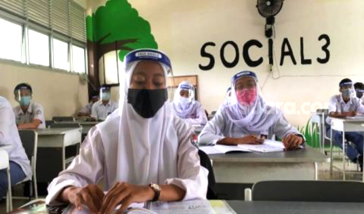 Pembelajaran Tatap Muka Awal 2021 di Banyuwangi Diundur