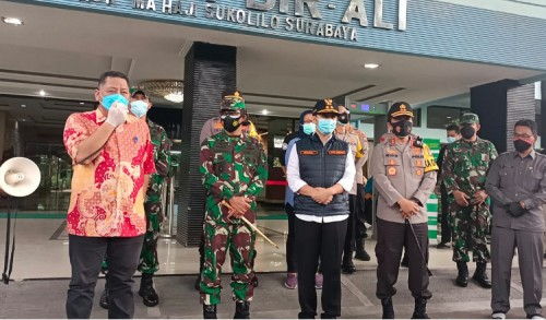 Pembatasan Aktivitas Jawa-Bali, Pemprov Jatim Tunggu Instruksi Pemerintah Pusat