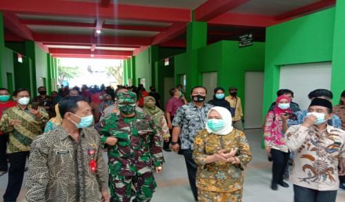 Bupati Bojonegoro Resmikan Pasar Daerah Unit Banjarejo 1