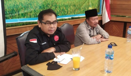 Bupati Agam Terpilih Silaturrahim Dengan Pengurus PWI Kota Bukittinggi