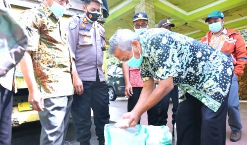 Dinsos Tuban Akui, Beras BPNT di Kecamatan Grabagan Berkualitas Bagus