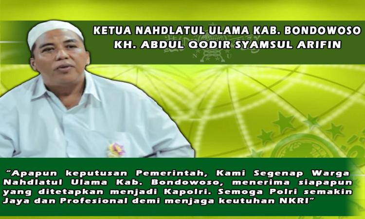 PCNU Bondowoso Mendukung Penuh Siapa Saja Kapolri yang Terpilih