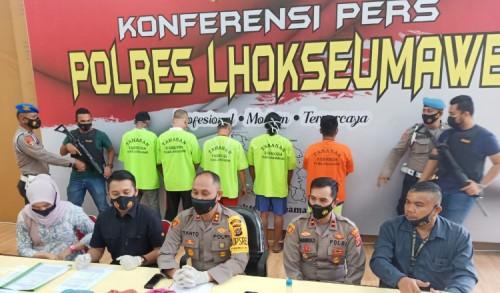 Pelaku Pelecehan Seksual Anak di Kuta Makmur Aceh Utara Ditangkap Polisi