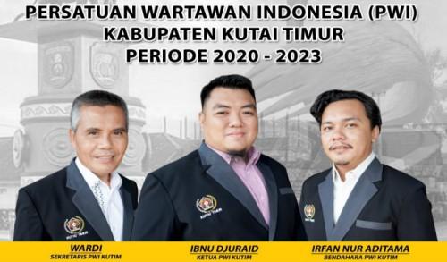23 Pengurus PWI Kutim Periode 2020-2023 Dilantik Besok