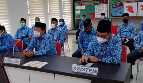 Kirim Doa atas Meninggalnya Asisten II, ASN Pemkab Jombang Laksanakan Tahlil Secara Virtual