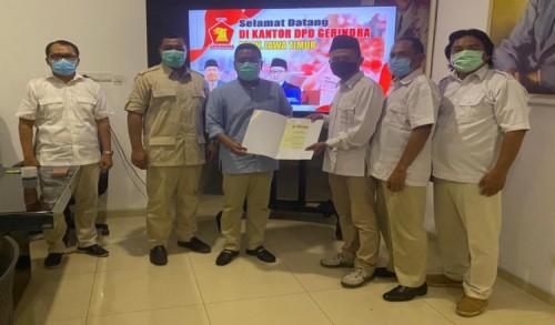 Sahudi Resmi Jabat Ketua DPC Gerindra Bojonegoro