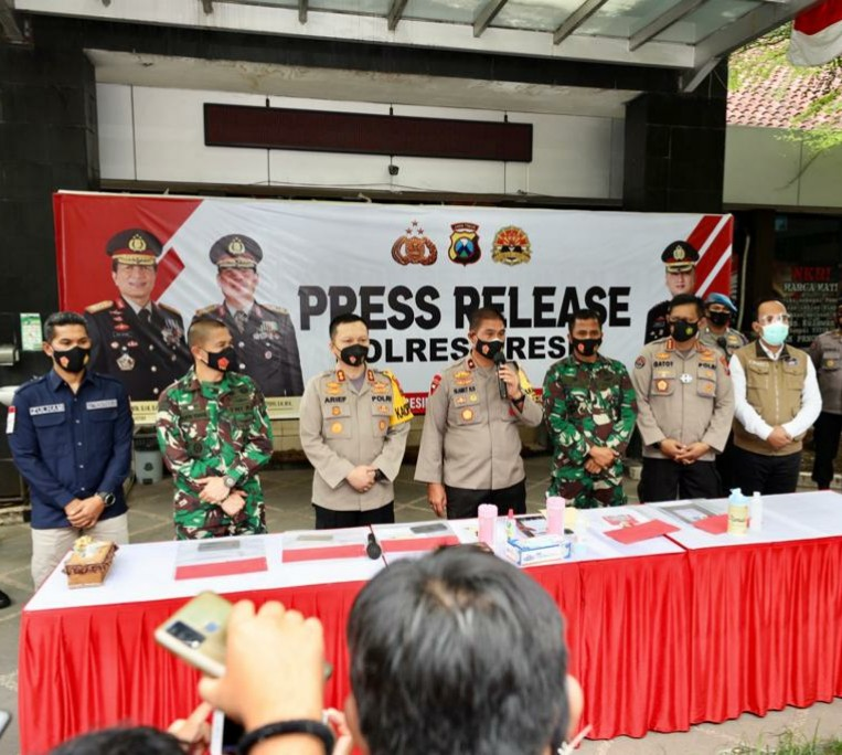 Polisi Tangkap Penyebar Berita Hoax Danramil Meninggal Usai Divaksin