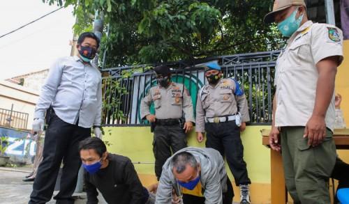 Sebanyak 107 Pelanggar Terjaring Operasi Yustisi Prokes di Jombang