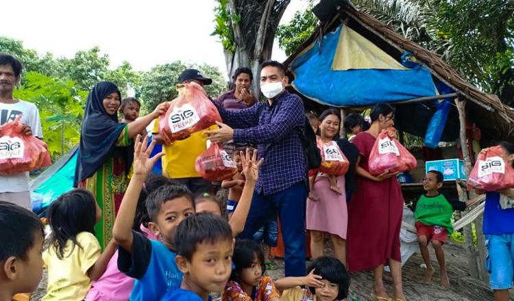 SIG Bantu Korban Bencana Gempa Bumi di Mamuju