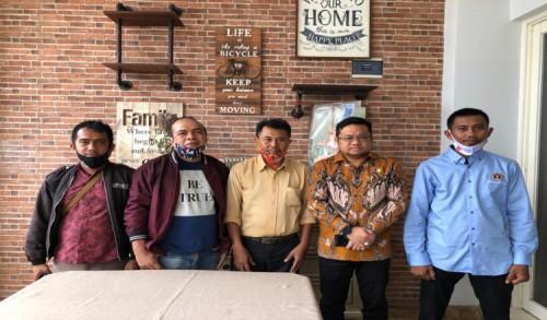 Panitia Konfercab PWI Gowa Silaturahmi di Kediaman Wakil DPRD Sulsel, Ini Tujuannya