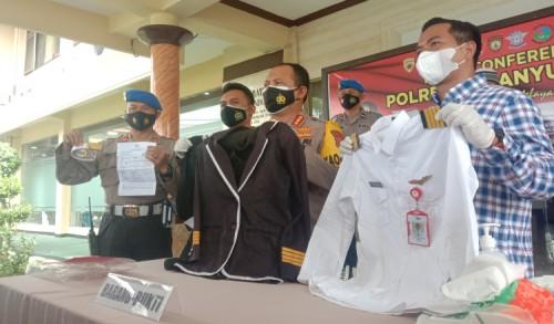 Tipu Wanita Banyuwangi, Pilot Gadungan asal NTT Diringkus Polisi