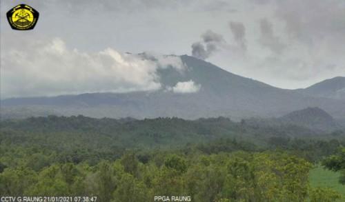 Status Gunung Raung Dinaikkan ke Level Waspada