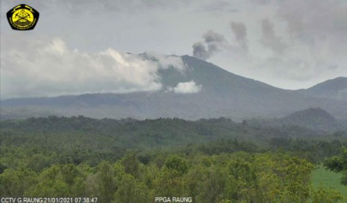 Gunung Raung Kembali Erupsi, Warga Diminta Jauhi Radius 2 Km