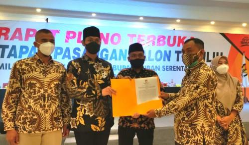 KPU Tuban Resmi Tetapkan Paslon Bupati dan Wakil Bupati Periode 2020-2024