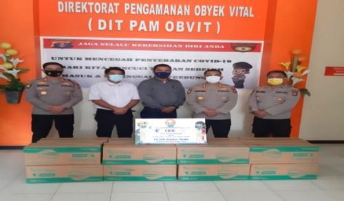 Bantu Korban Bencana, PT Indexim Coalindo Bersama KMIA dan BBE Serahkan 10 Ribu Masker
