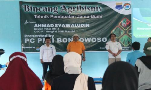 PC PMII Bondowoso Latih Kadernya Ilmu Agribisnis