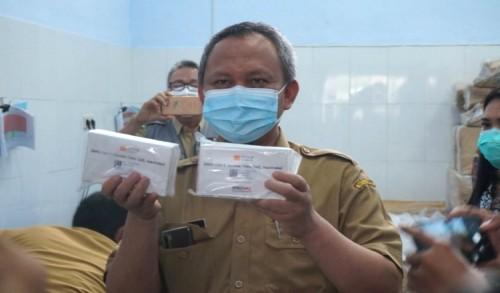 2000 Vaksin Sinovac Tahap Pertama Sampai di Dinkes Trenggalek