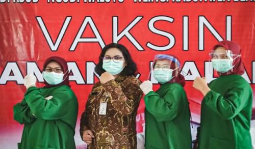 RSUD Wlingi Kabupaten Blitar Siap Laksanakan Vaksinasi COVID-19 Perdana
