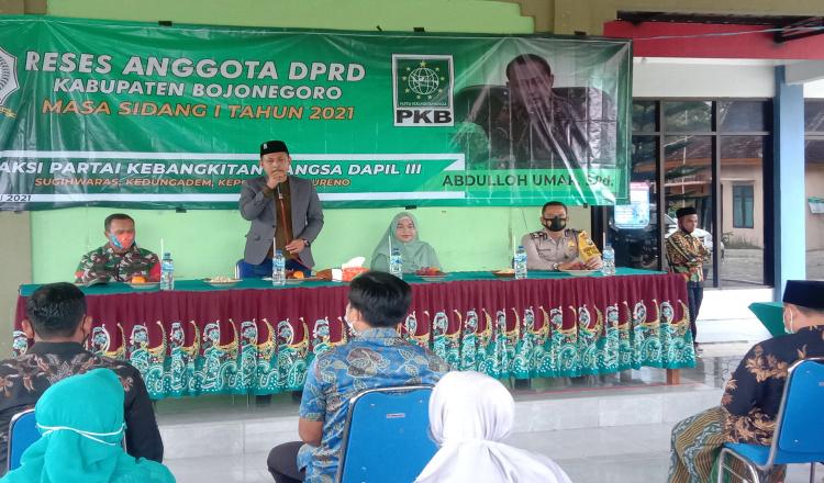 Reses Masa Sidang 1, Abdulloh Umar Tegaskan Semua Program Bupati Bojonegoro Bakal Tuntas